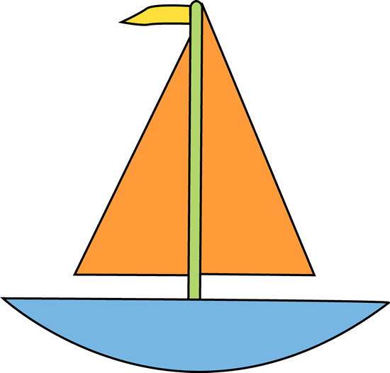 Boat for Letter B Clip Art - Boat for Letter B Image