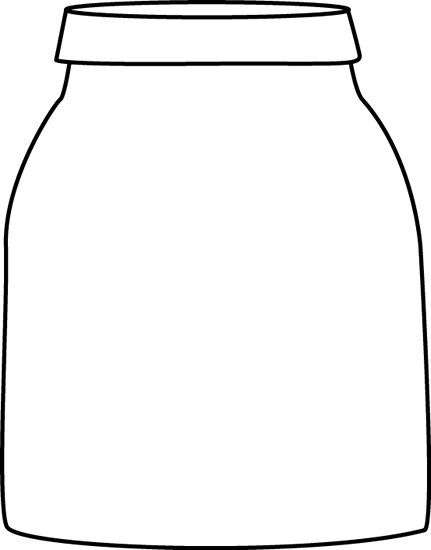 Black and White Jar