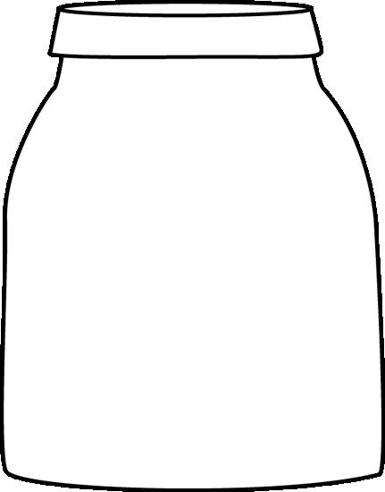 Black and White Jar