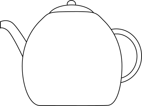 Black and White Kettle