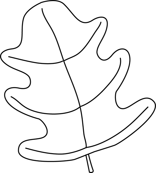 leaf black and white - photo #36