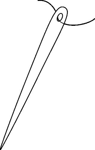 Black and White Needle