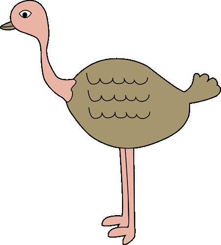 Clip Art Ostrich Clipart ostrich clip art image ostrich