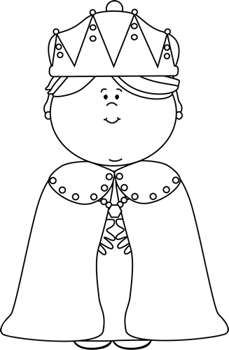Queen Clipart Black And White Clipart Queen B...