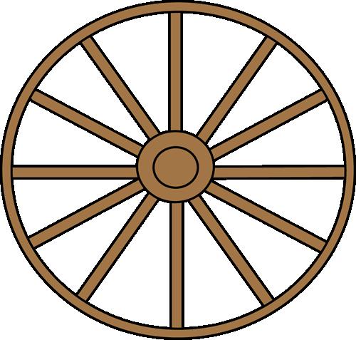 Wagon Wheel Clip Art | Car Interior Design