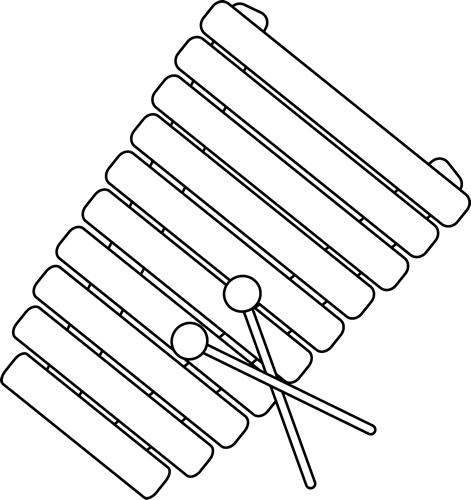 Line Art Xylophone : The gallery for gt xylophone outline
