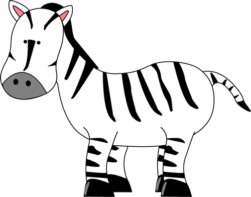 Zebra for Letter Z Clip Art - Zebra for Letter Z Image