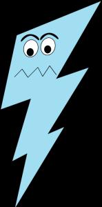 Angry Lightning Bolt
