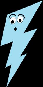 Surprised Lightning Bolt