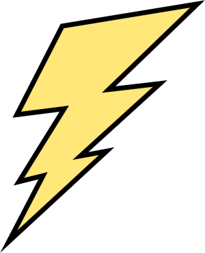 Yellow Lightning Bolt  sc 1 st  MyCuteGraphics & Yellow Lightning Bolt Clip Art - Yellow Lightning Bolt Image azcodes.com