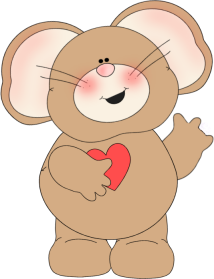 I Love You Mouse
