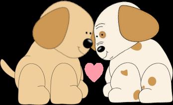 Pups In Love