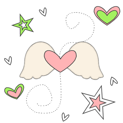 Winged Heart Love