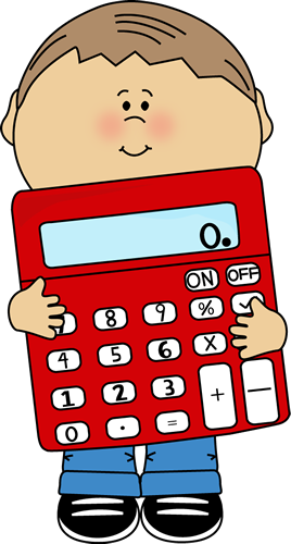 Clip Art Calculator Clip Art kid holding calculator clip art vector image calculator
