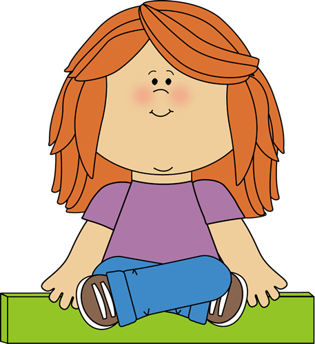 Kid Sitting on Math Minus Sign