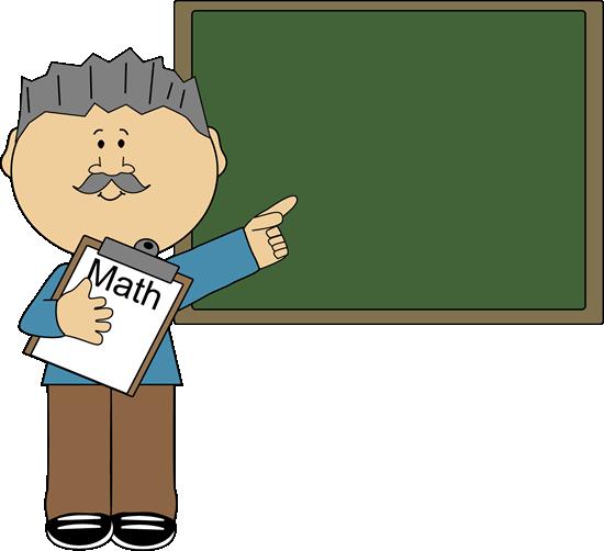 Man Math Teacher Clip Art