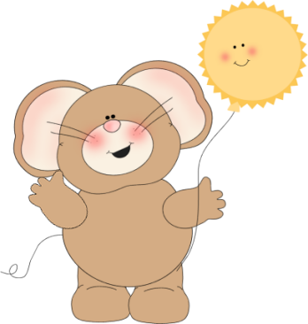 Mouse and Sunshine Balloon