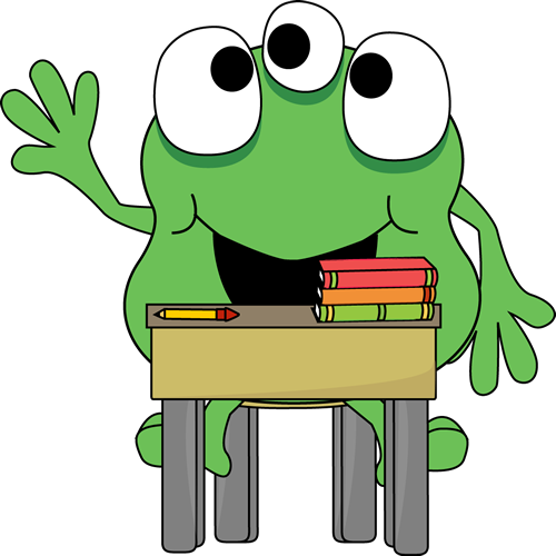 Green Monster in School