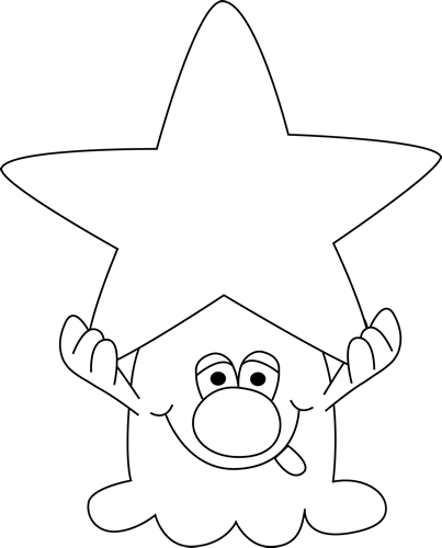 Star Clipart Black And White. star clip art black and white clipart ...