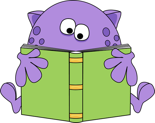 monster reading a book clip art monster reading a book image rh mycutegraphics com reading books clip art free girl reading book clipart