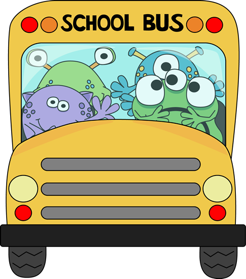 Monsters on a School Bus