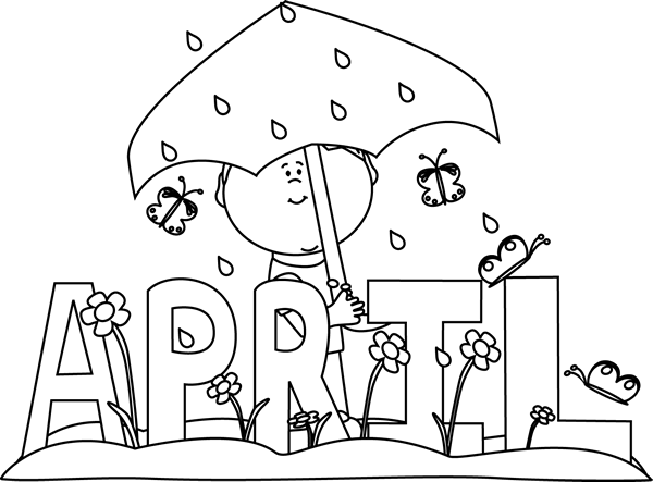 month of april rain black white صور مكتوب عليها عبارات عن شهر نيسان(ابريل)