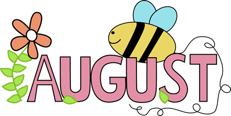 Month of August Summer