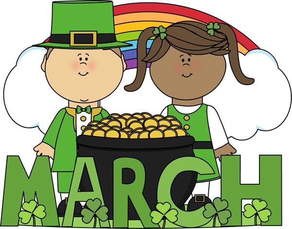 Month of March Saint Patrick's Day