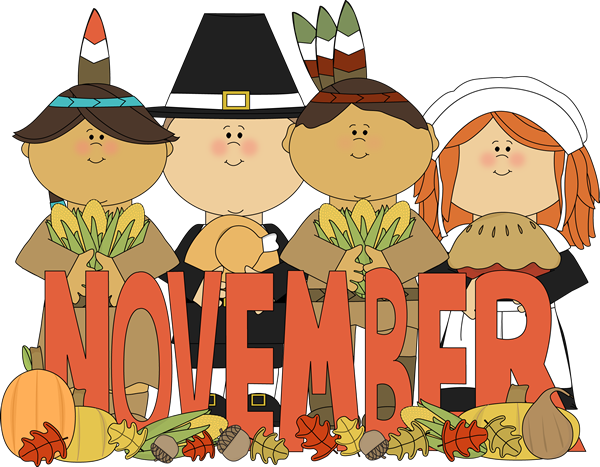 Clip Art November Clip Art november clip art images month of indians and pilgrims