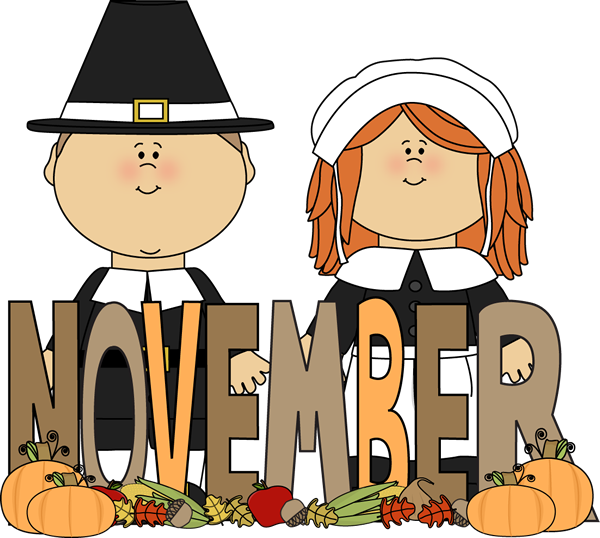 month of november pilgrims clip art month of november pilgrims image Clock Clip Art Clock Clip Art