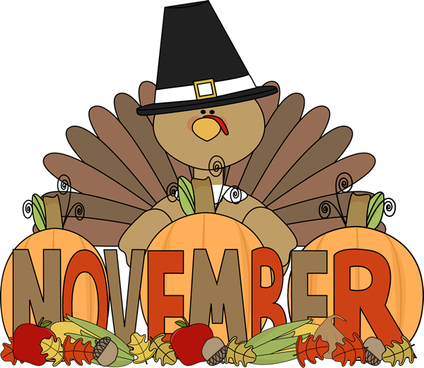 Month of November Turkey