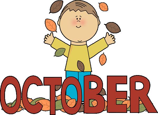 October Clip Art - October Images - Month of October Clip Art