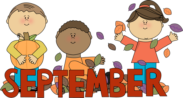 Clip Art September Pictures Clip Art september clip art images month of kids autumn scene