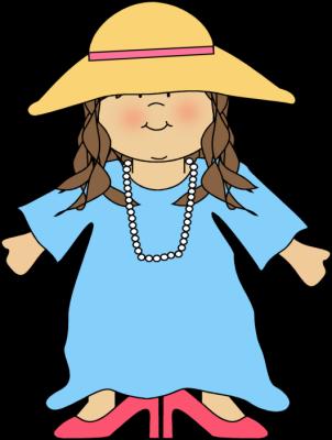 Girl Dressed Like Mom