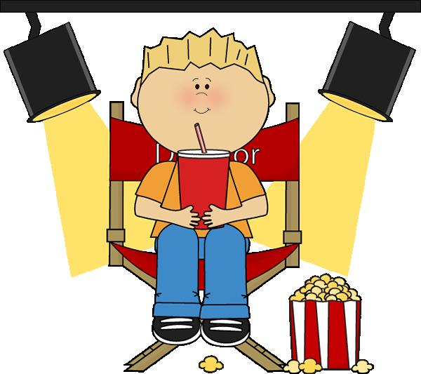 Boy Sitting in Directors Chair