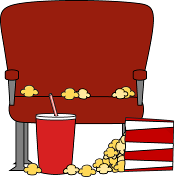 Empty Movie Theater Seat