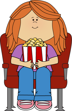 Family Watching Movie Clipart - Clipart Suggest |Kids Watching Movie Clipart