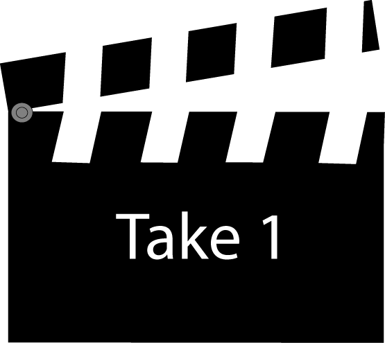 Movie Clapperboard Take One