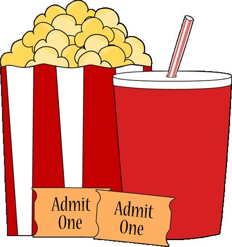 Movie Popcorn and Drink