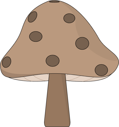 Brown Spotted Mushroom