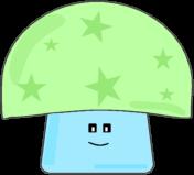 Green Star Mushroom