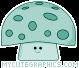 Teal Mushroom