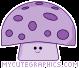 Purple Mushroom