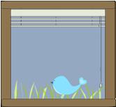 Bird Sitting In Window