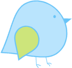 Blue Green Bird