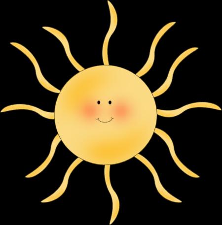 free clip art sunshine. Sun Clip Art Image - cute,