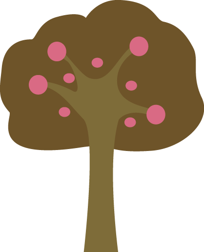 Brown and Pink Tree