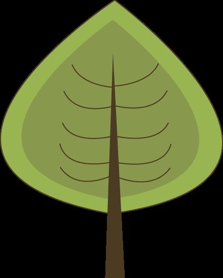 Modern Green Tree