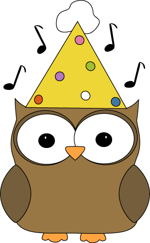 Musical Party Owl