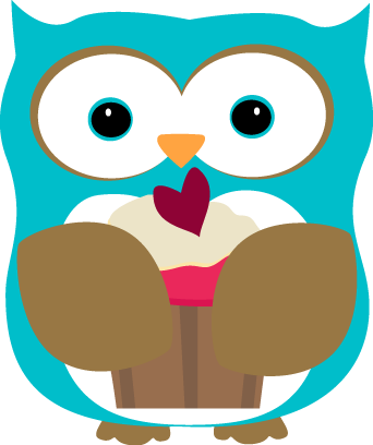 owl eating a cupcake clip art owl eating a cupcake image rh mycutegraphics com cute owl clipart png cute owl clipart birthday